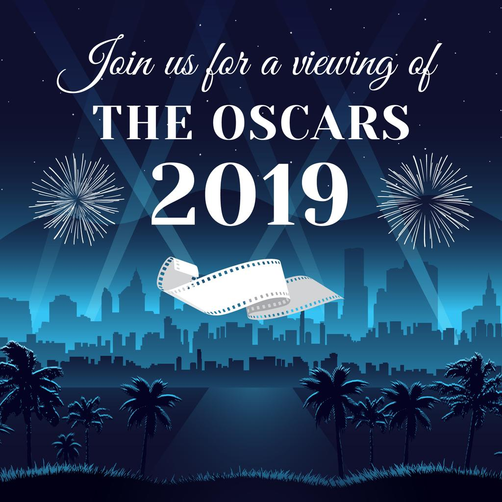 Annual Academy Awards announcement — Створити дизайн