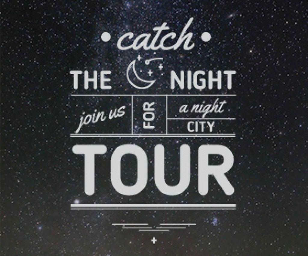 night city tour banner — Создать дизайн