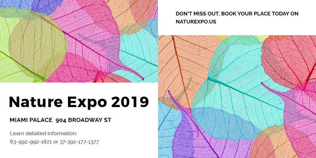 Nature Expo Announcement — Create a Design