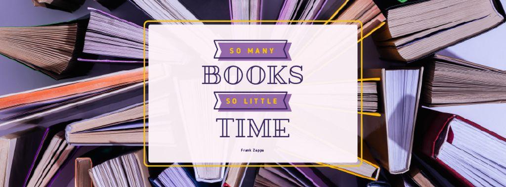 Book Store Promotion Books in Purple — Crear un diseño