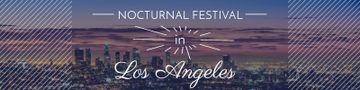 Nocturnal festival banner