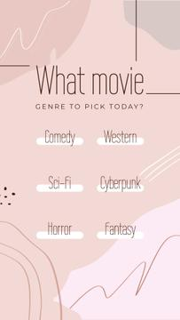 Form about Movie genres