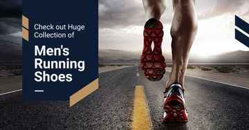advertisement banner for sportswear store