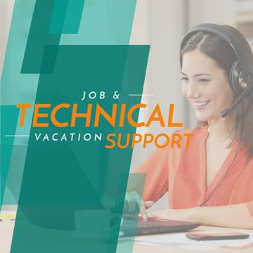 Job and technical vacation support