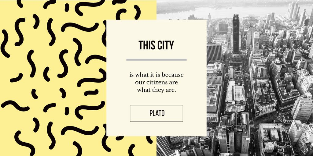 View of modern city buildings — Create a Design