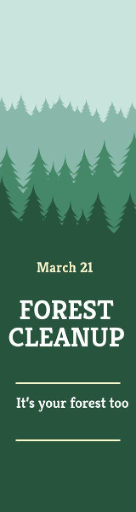 Forest cleanup day — Crear un diseño