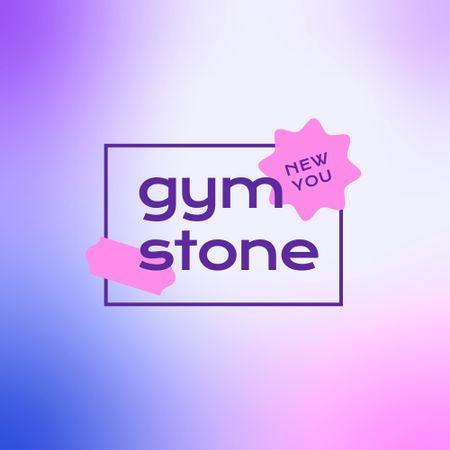Gym Opening Announcement Logo – шаблон для дизайну
