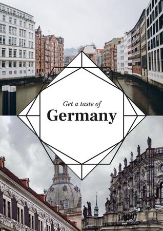 Special Tour Offer to Germany Poster Modelo de Design