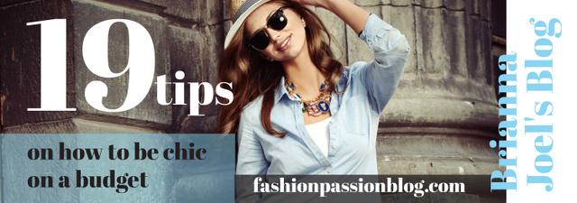 Ontwerpsjabloon van Tumblr van Fashion Tips Woman wearing Hat and sunglasses