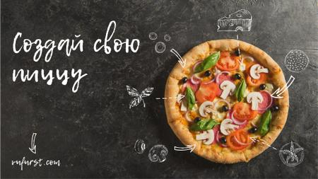 Italian Pizza menu promotion Full HD video – шаблон для дизайна