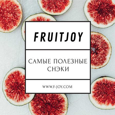 Fruit dishes with Slices of Ginger Instagram – шаблон для дизайна