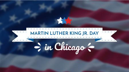 Martin Luther King Day Greeting with Flag Youtube – шаблон для дизайна
