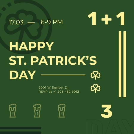 Template di design St.Patrick's Day Special Offer Instagram