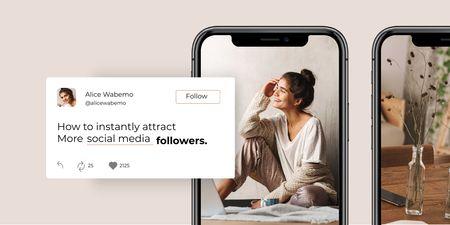 SMM Workshop announcement Twitter Design Template