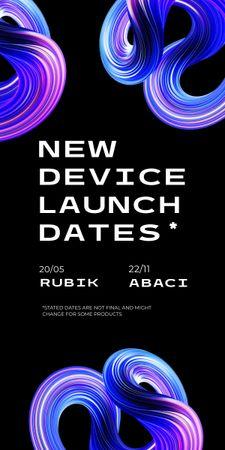 Modèle de visuel New Device Launch Announcement - Graphic