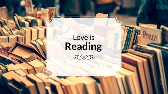 Reading Inspiration with Books on Shelves Youtube Modelo de Design