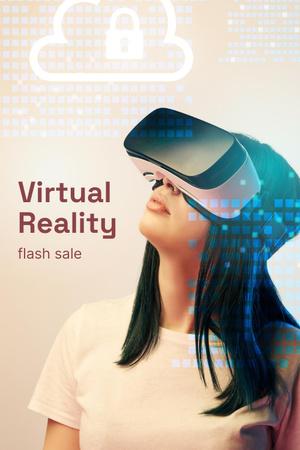 VR Equipment Flash Sale Ad Pinterest Modelo de Design