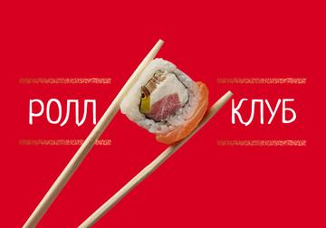 Sushi Menu Offer with Fresh Seafood Maki