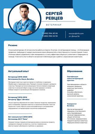 Medicine skills and experience Resume – шаблон для дизайна