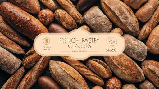 Bakery Ad With Fresh Bread Loaves
