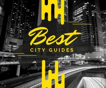 City Guide Night Traffic Lights