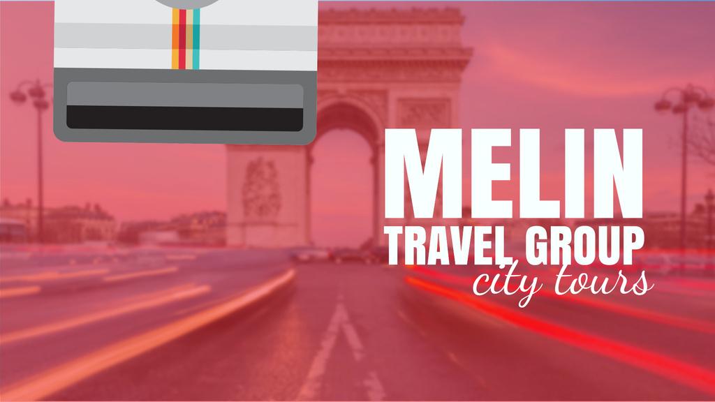 Paris Arc De Triomphe Famous Travelling Spot — ein Design erstellen