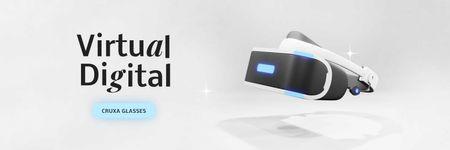Template di design Virtual Reality Glasses Sale Ad Twitter