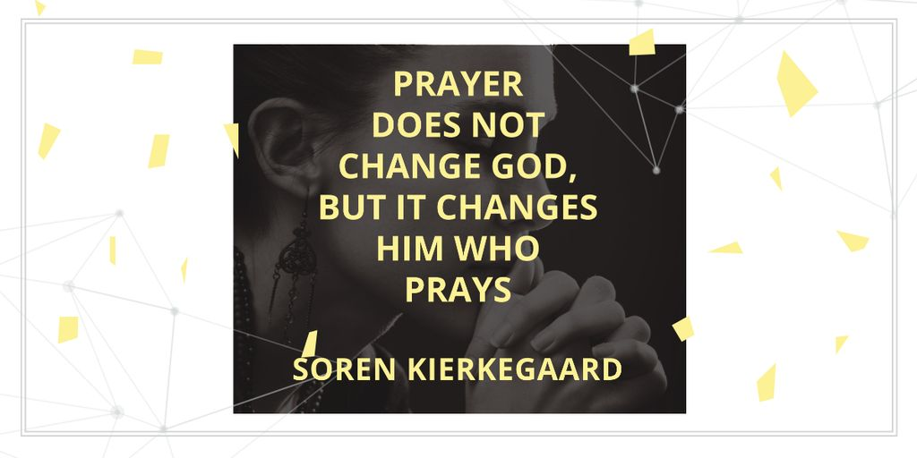 Religion citation about prayer — Maak een ontwerp