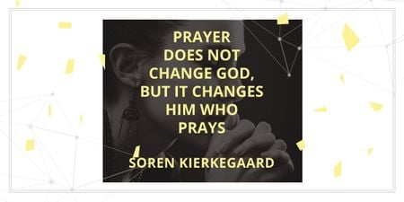 Szablon projektu Religion citation about prayer Image