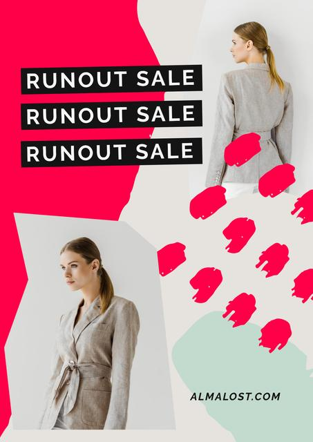 Modèle de visuel Women's Day Sale with Womens in costumes - Poster