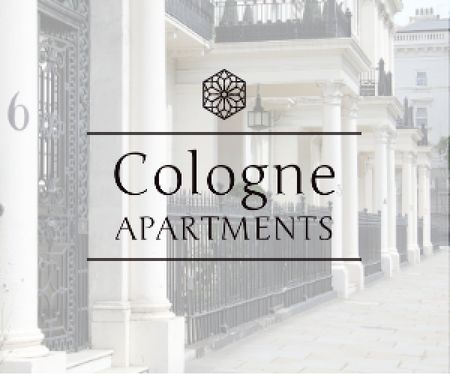 Modèle de visuel Cologne apartments advertisement - Medium Rectangle