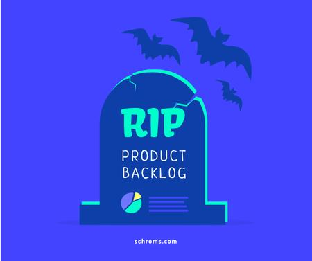Modèle de visuel Funny Joke about Product Backlog - Facebook