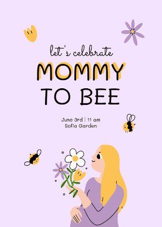 Template di design Baby Shower Celebration Announcement Invitation