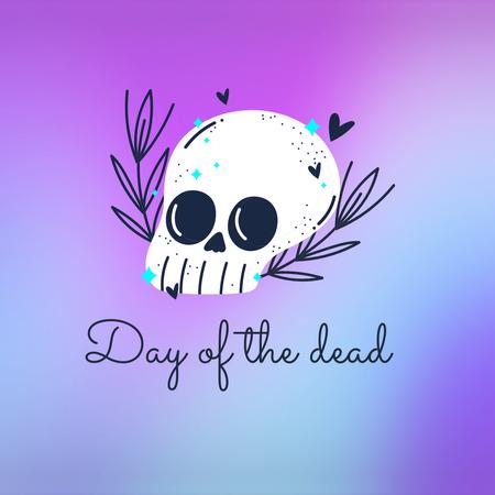 Day of the Dead Holiday Announcement Animated Post – шаблон для дизайна