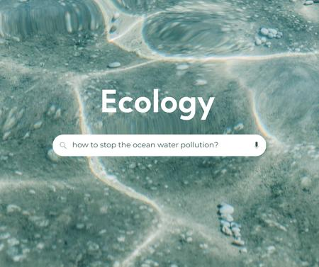 Modèle de visuel Eco Concept with Crystal Sea Water - Facebook