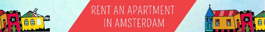 Real Estate Ad with Amsterdam Buildings — Crear un diseño