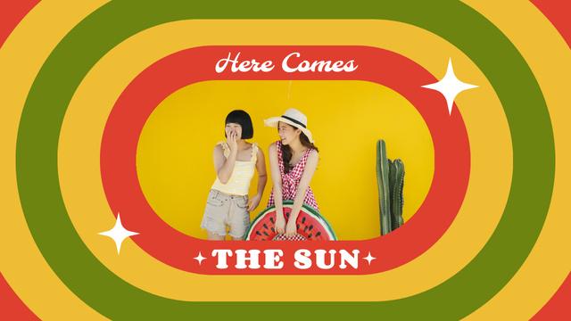Modèle de visuel Summer Inspiration with Young Stylish Girls - Youtube Thumbnail