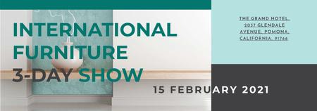 Modèle de visuel Furniture Show announcement Vase for home decor - Tumblr