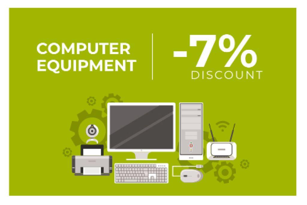 Discount for computer equipment — Modelo de projeto