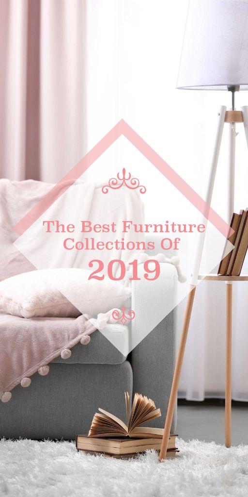 Furniture design collections poster — Créer un visuel