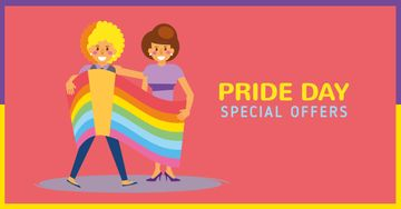 Pride Day Special Offer with LGBT Couple