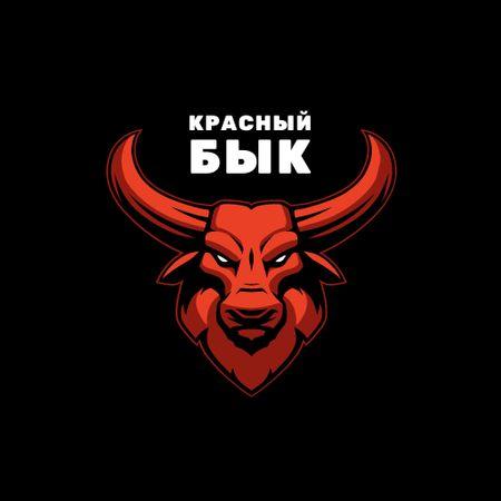 Bull for Sport team emblem Logo – шаблон для дизайна