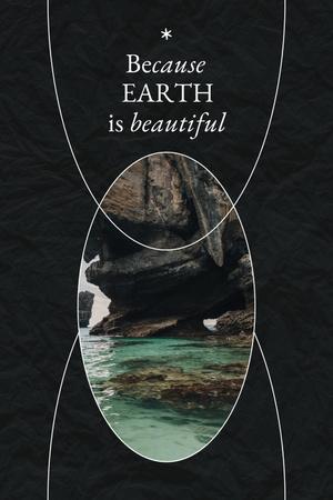 Modèle de visuel Eco Concept with Crystal Water - Pinterest