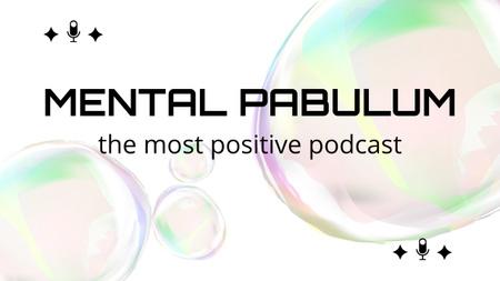 Announcement of Podcast Topic Youtube Thumbnail Modelo de Design