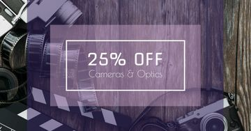 Cameras and Optics Sale Offer