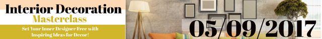 Interior decoration masterclass Leaderboard Tasarım Şablonu