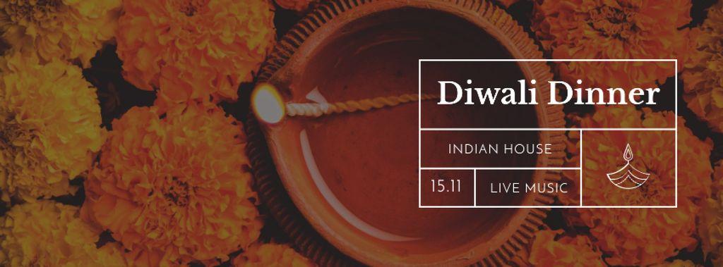 Happy Diwali celebration — Modelo de projeto