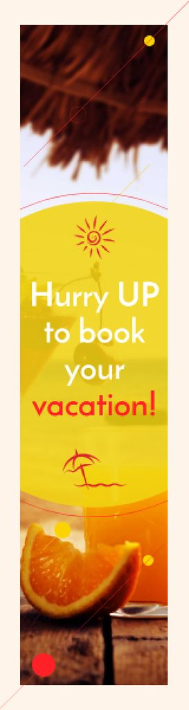 Summer vacation poster — Créer un visuel