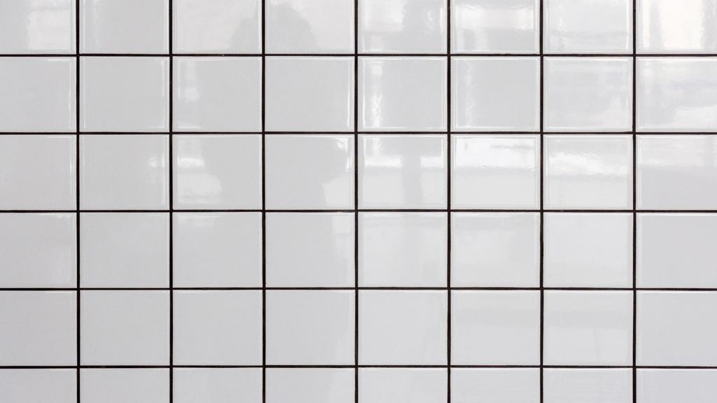 White tiled Wall — Maak een ontwerp