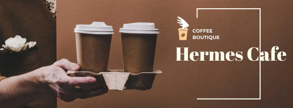 Man holding Coffee To-go — Crear un diseño